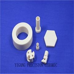 Zirconia crystal surface polishing wear