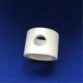Zirconia crystal surface polishing wear - resistant tube