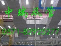 浙江中瑞單面彩鋼酚醛復合風管板