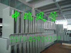洁净型双面彩钢板复合风管
