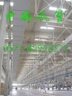 雙面彩鋼板復合成品風管 1
