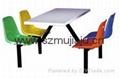快餐桌椅 2