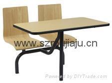 快餐桌椅 3