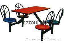 快餐桌椅 4