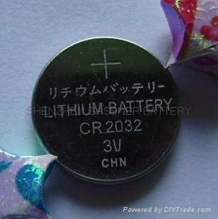 CR2032 3V lithium button cell batteries Coin cells 2