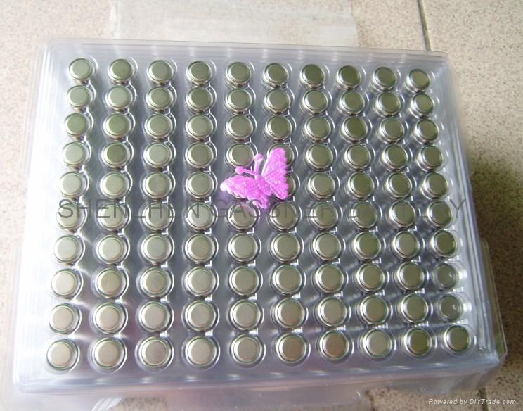 AG10 LR1130 Mercury free 1.5V alkaline button cell battery 4