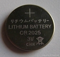 CR2025 3V lithium button cell battery for watches 4