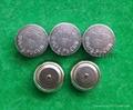 AG13 LR44 A76 1.5v alkaline button cells coin cells 4