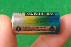 4A76 4LR44 4AG13 PX28A 1.5V alkaline batteries for dog collars remote controls