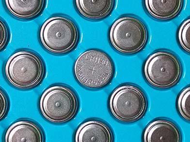 AG10 LR1130 Mercury free 1.5V alkaline button cell battery 2