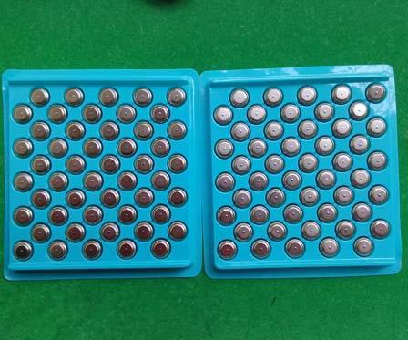 AG13 LR44 A76 1.5v alkaline button cells coin cells 1