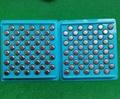 AG13 LR44 A76 1.5v alkaline button cells
