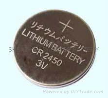 CR2450 3v lithium button cell battery coin cells 3