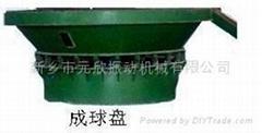 焊劑造粒機成球盤