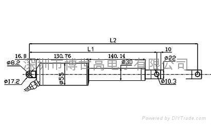 电动推杆TG-100 5