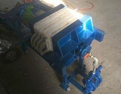 小型千斤頂壓濾機