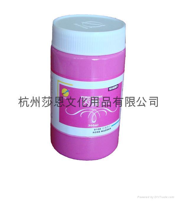300ml丙烯颜料代理经销 1