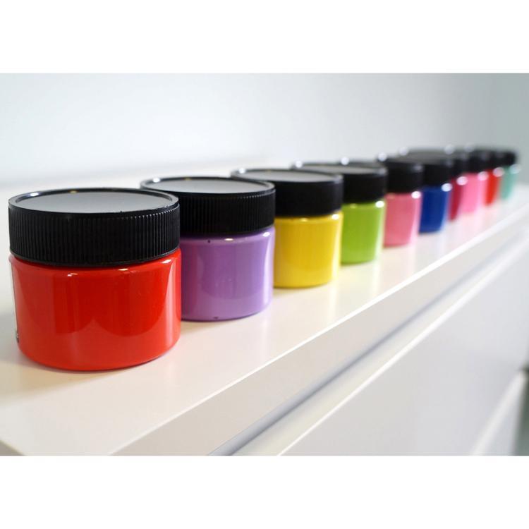 莎恩貼牌水粉顏料OEM貼牌代加工水粉顏料100ml 4