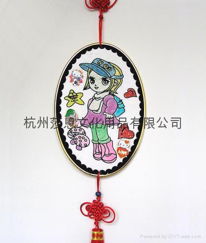 金粉畫批發 3