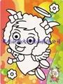 杭州莎恩低價供應彩色沙畫儿童玩
