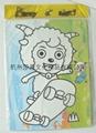杭州莎恩低價供應彩色沙畫儿童玩具批發 2