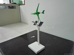 太陽能風光互補路燈模型