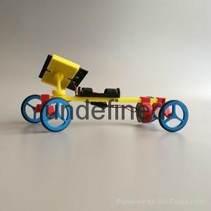 太陽能玩具小車 3