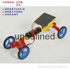 太阳能玩具小车
