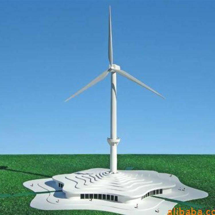 Wind power enterprise exhibition hall model 1