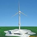 专业制作各种款式风电企业展馆展