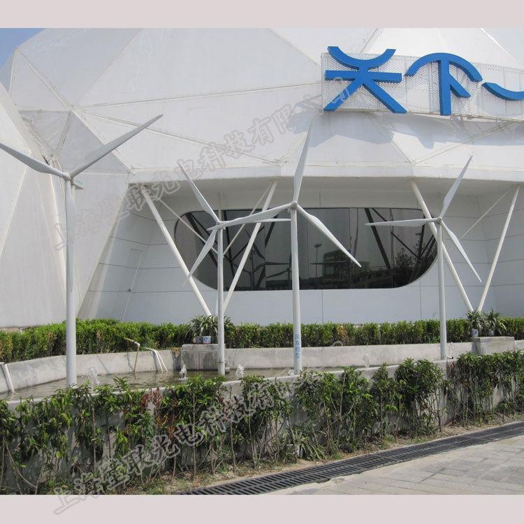 Wind power enterprise exhibition hall model 4