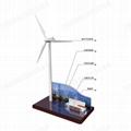 廠家直供辦公展示用品文案擺件風車禮品模型辦公文案展示 2