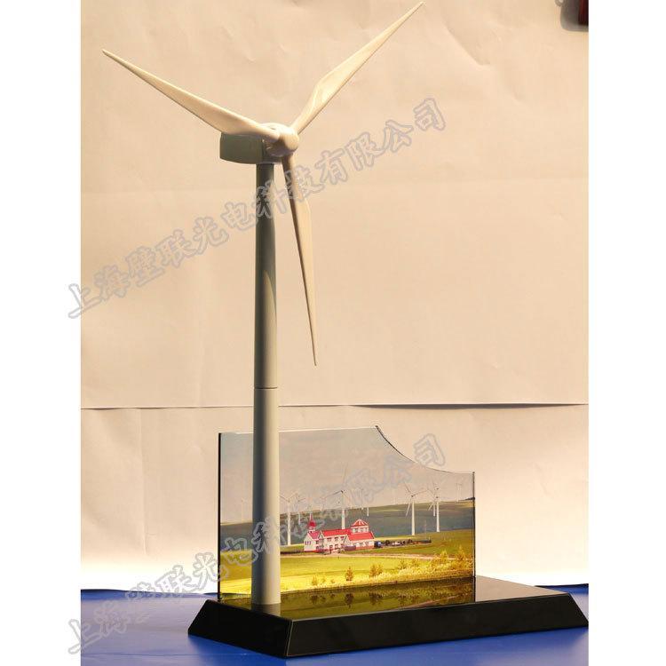 廠家直供辦公展示用品文案擺件風車禮品模型辦公文案展示 3