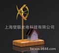 廠家直供辦公展示用品文案擺件風車禮品模型辦公文案展示 4