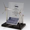 廠家直供辦公展示用品文案擺件風車禮品模型辦公文案展示 5