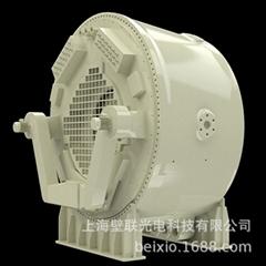 專業定製動態風力發電機增速齒輪箱剖析模型