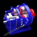 专业定制动态风力发电机增速齿轮箱剖析模型 4