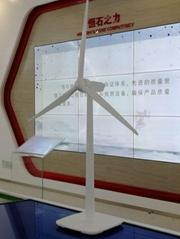 厂家制作金属风力发电机模型模型制定风能设备