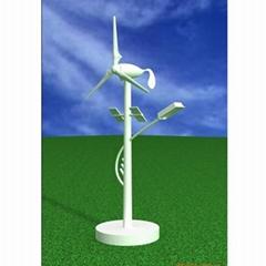 專業定製高仿真縮比風光互補路燈模型