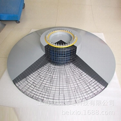 Windmill Foundation Base Model Supplied by Shanghai Wall Joint Manufacturer