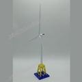 制作金属工艺摆件海上风力发电机