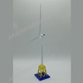 Model of offshore wind turbines with