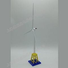 制作金属工艺摆件海上风力发电机模型