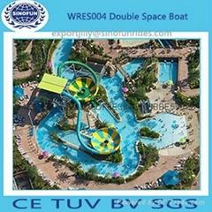 big water slide space bowl slide in