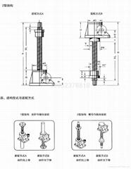 江蘇泰隆蝸輪螺杆昇降機
