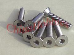 Stainless Steel Screws - Flat Head Cap Screws