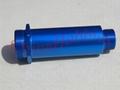 Aluminum Shock Bodies (blue anodising)