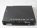 HD network advertising player box WIFI 3G 1