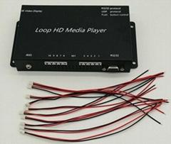 指令控制按鍵觸發視頻互動多媒體播放盒