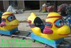 珍宝飞机电动轨道小火车儿童游乐设备